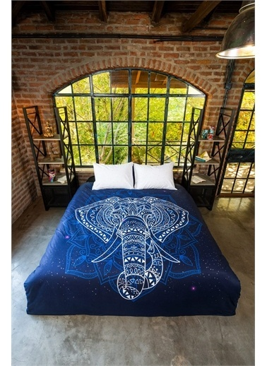 home-bath Çift Kişilik Nevresim Takımı Elephant Renkli
